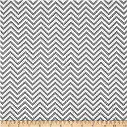 Remix Zig Zag Grey Fabric