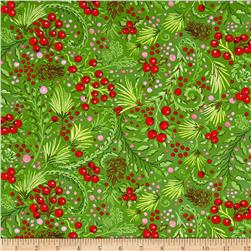 Dena Designs Winterland Snowberry Green