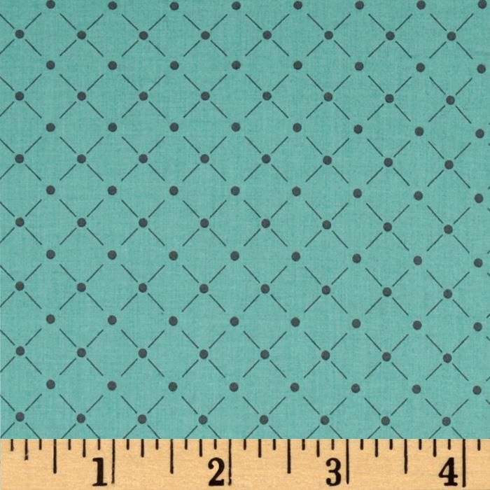 Zoey Lattice Green