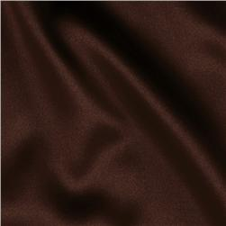 Tahari Stretch  Satin Chocolate Brown