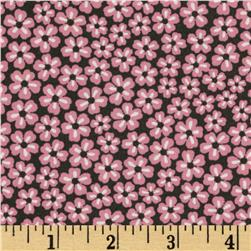 Geneva Retro Small Tossed Floral Pink