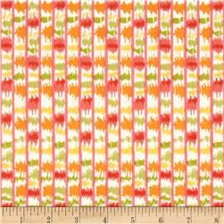 Tangier Ikat Stripe Orange