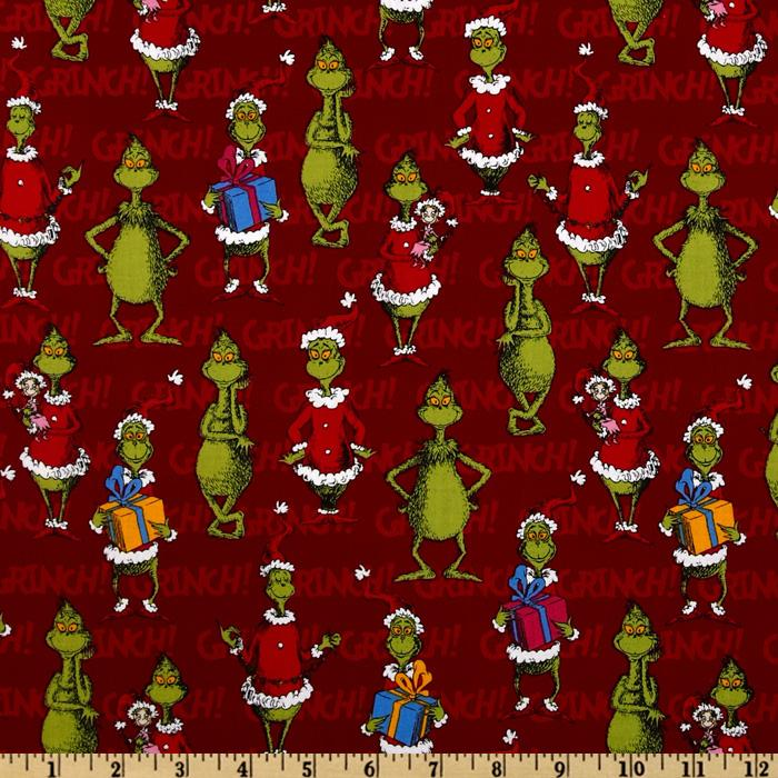 How the grinch stole christmas happy grinch holiday red