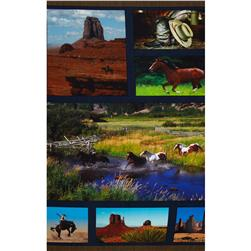 American Spirit Digital Print Horse Country Panel Multi