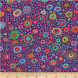 Kaffe Fasset Collective Roman Glass Purple Fabric
