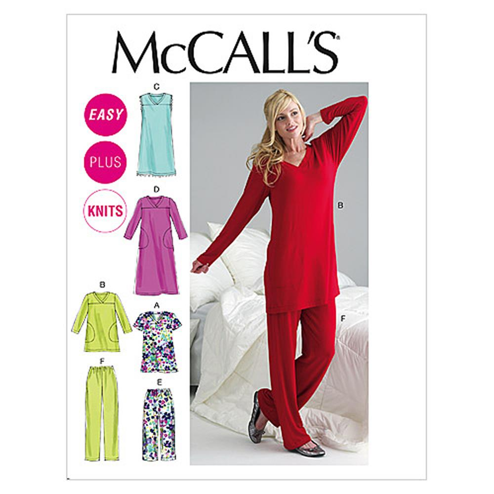 McCall's Misses'/Women's Top, Tunic, Gowns and Pants Pattern
