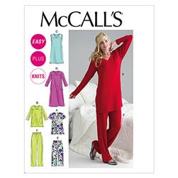 McCall's Misses'/Women's Top, Tunic, Gowns and Pants Pattern M6474 Size B50