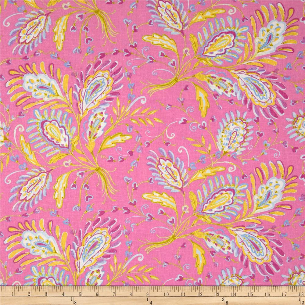 Dena Designs Sunshine Linen Blend Heather Pink