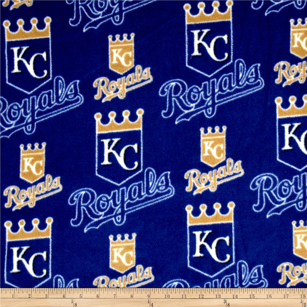 MLB Kansas City Royals Fleece Fabric