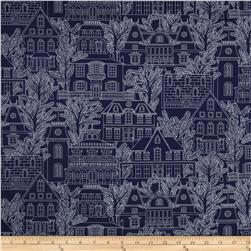 Michael Miller Midnight Gems Maison Navy