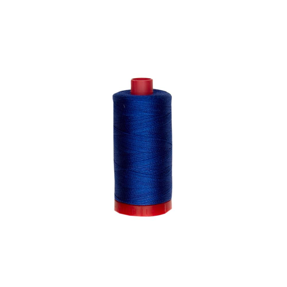 Aurifil 12wt Embellishment and Sashiko Dreams Thread Dark Cobalt