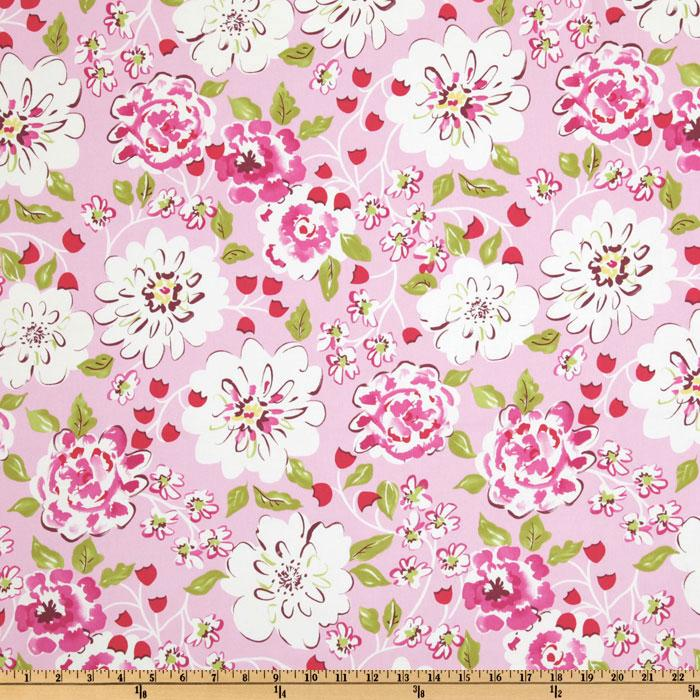 Tea Garden Cotton Sateen Home Floral Décor Ying