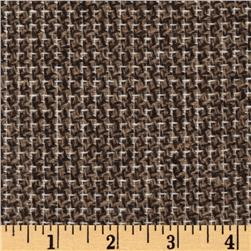 Wool Blend Coating Brown/Ivory