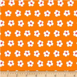 Robert Kaufman Whatever The Weather Daisy Tangerine