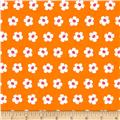 Kaufman Whatever The Weather Daisy Tangerine