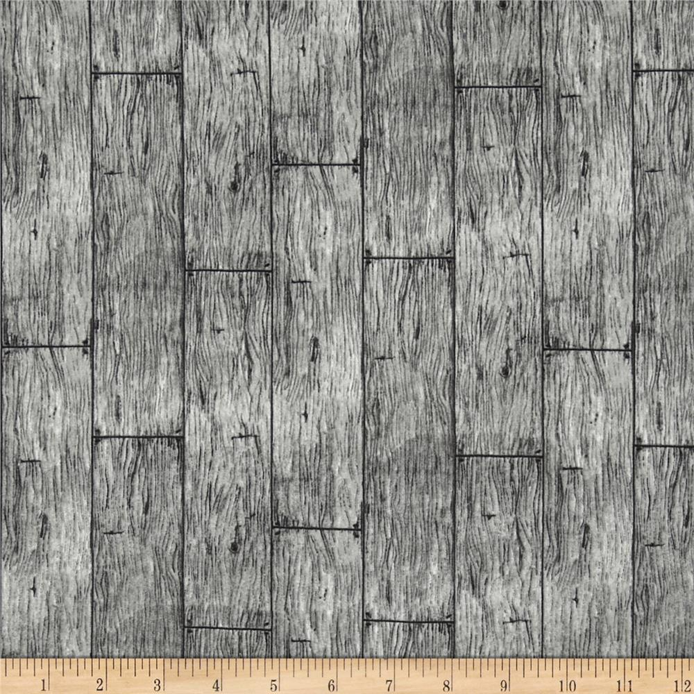 In The Meadow Wood Planks Grey