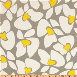 Premier Prints Helen Twill Storm/Yellow Fabric