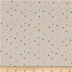 On Plumberry Lane Dots Light Grey