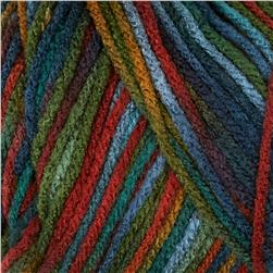 Red Heart Super Saver Yarn 788 Williamsburg Print