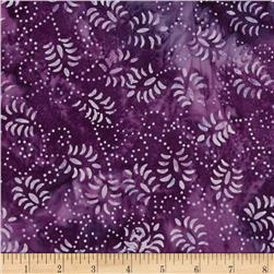 Batarian Batik Dancing Leaves Plum