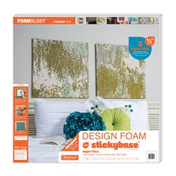 "Foamology Two Piece Design Foam Tile, Rigid 24"" x 24"" x .5"""