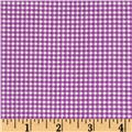 Michael Miller Mini Mikes Tiny Gingham Purple