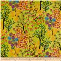 Let's Tweet Whimsey Garden Yellow