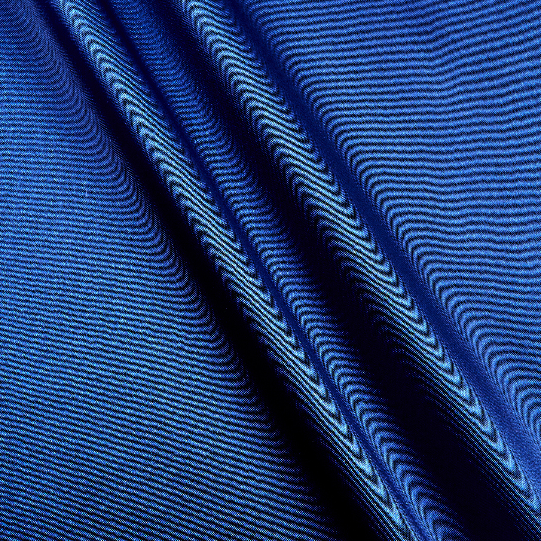 Silky Satin Charmeuse Solid Royal Fabric by Shannon in USA