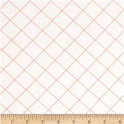 Doe 108'' Wide Quilt Back Trellis Carrot