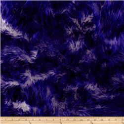 Luxury Faux Fur Candy Shag Purple