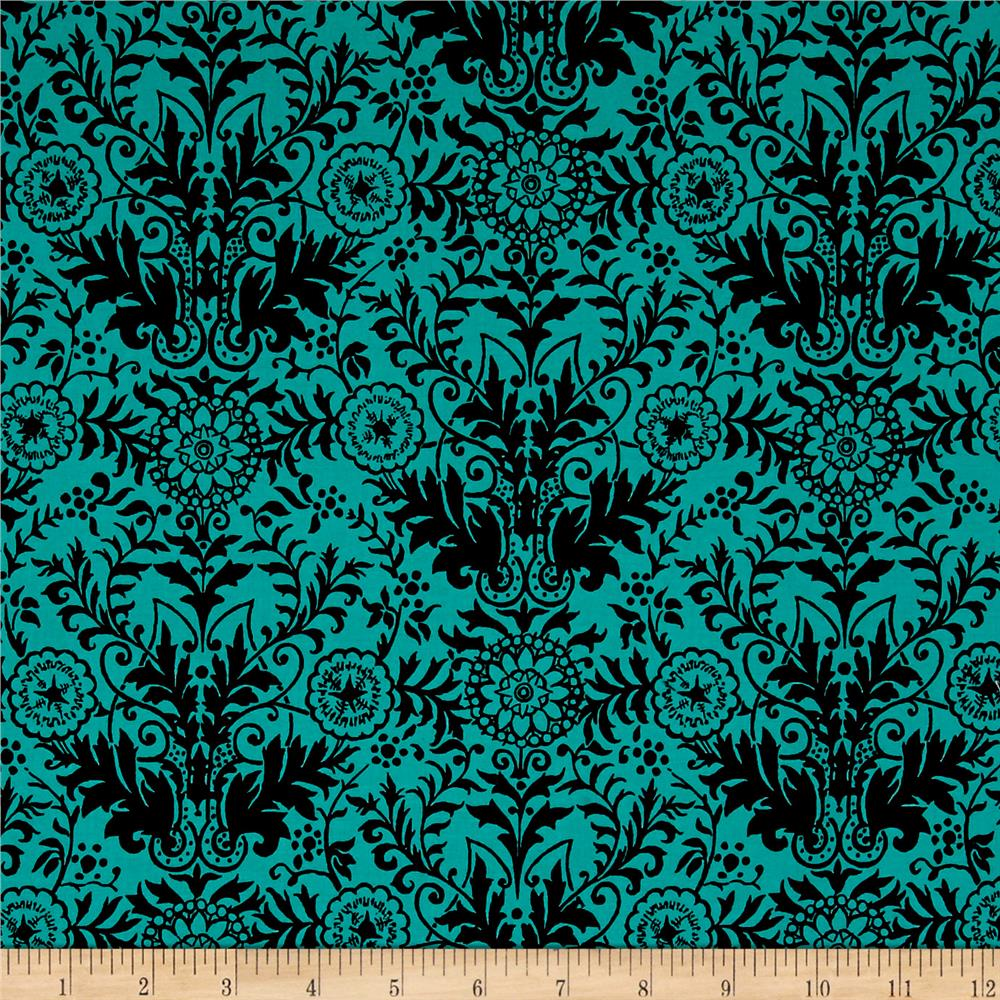 Ink & Arrow Toucan Do It! Damask Teal