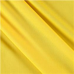 Poly Spandex Stretch ITY Knit Solid Yellow