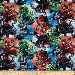 Marvel Comic Avengers Packed Patchwork Multi