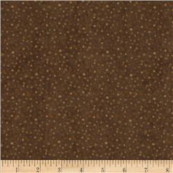 Essentials Flannel Petite Dots Brown