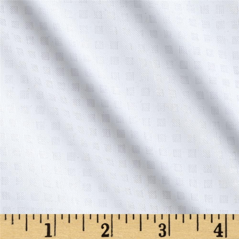 "Riley Blake 1/8"" Gingham White"