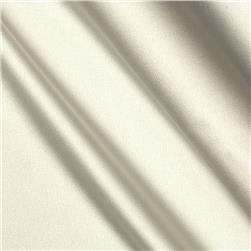 Stretch Charmeuse Satin Pure White