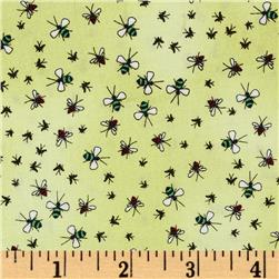 Kanvas Crawly Critters Gnats Green