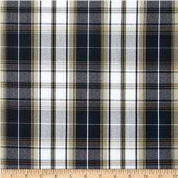 Polyester Uniform Plaid Khaki/Navy/Black