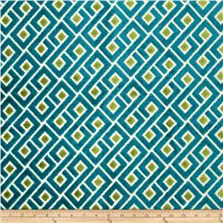 Richloom Tether Upholstery Jacquard Teal