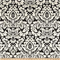 Waverly Dashing Damask Graphite Duck