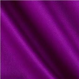Stretch Cotton Poly Sateen Magenta Purple
