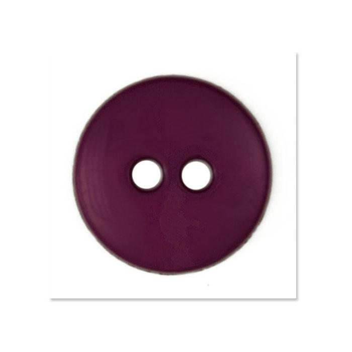 Colors by Favorite Findings 5/8'' Buttons 20/Pack Burgundy