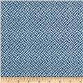 Anne of Green Gables Weave Blue