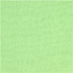 Linen/Cotton Voile Lime Fabric