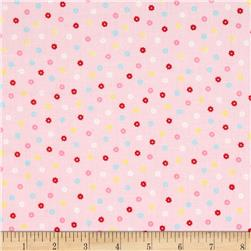 Lecien Minny Muu Tiny Flowers Pink