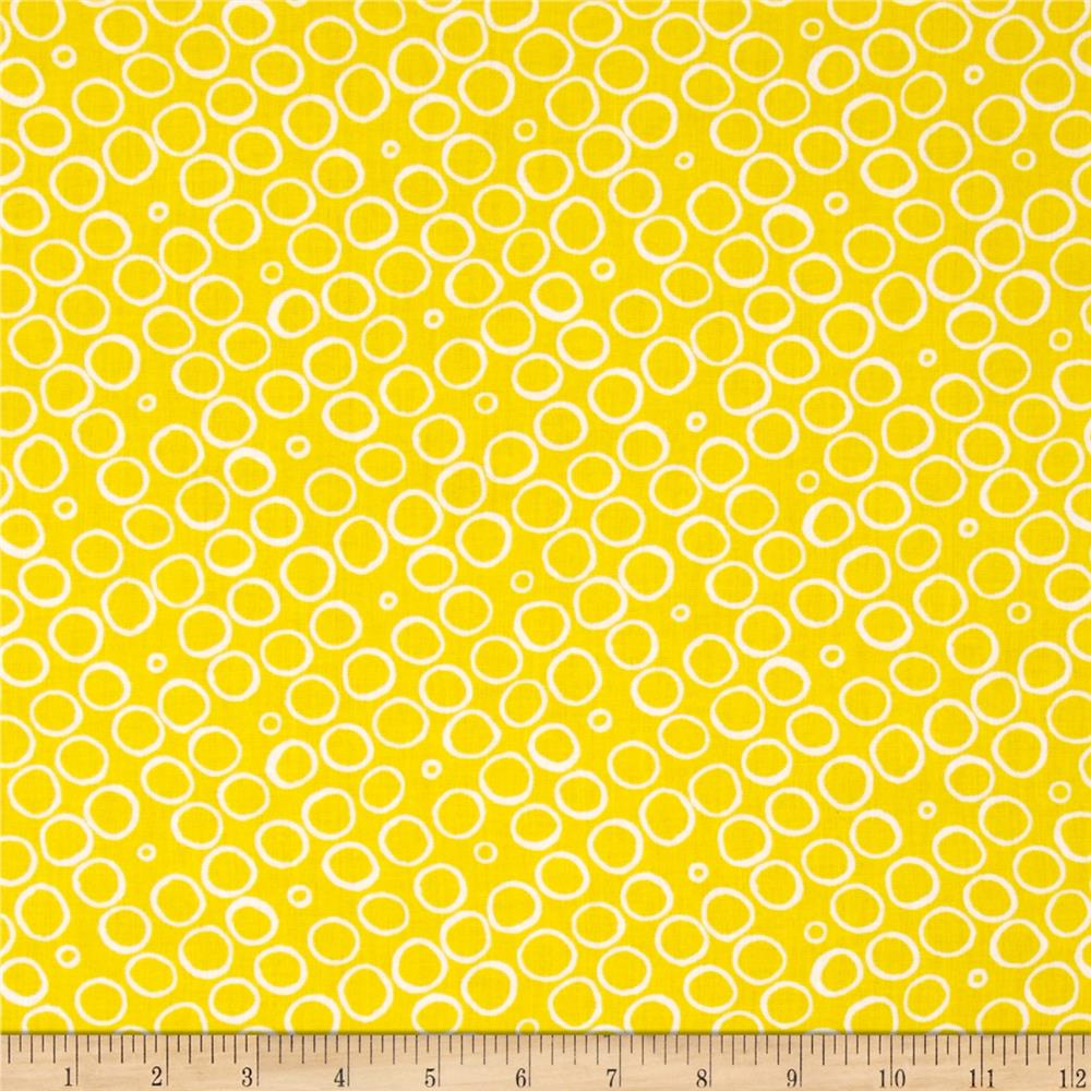 Contempo Butterfly Effect Circles Yellow
