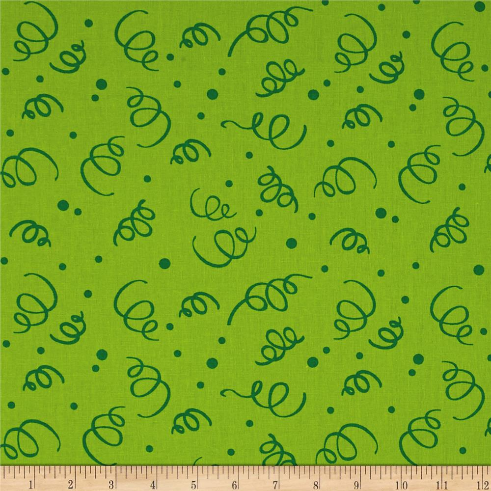 "110"" Wide Quilt Back Fiesta Lime"