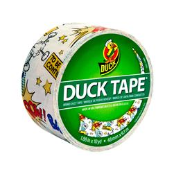 "Patterned Duck Tape 1.88"" x 10yd-Comic Book"