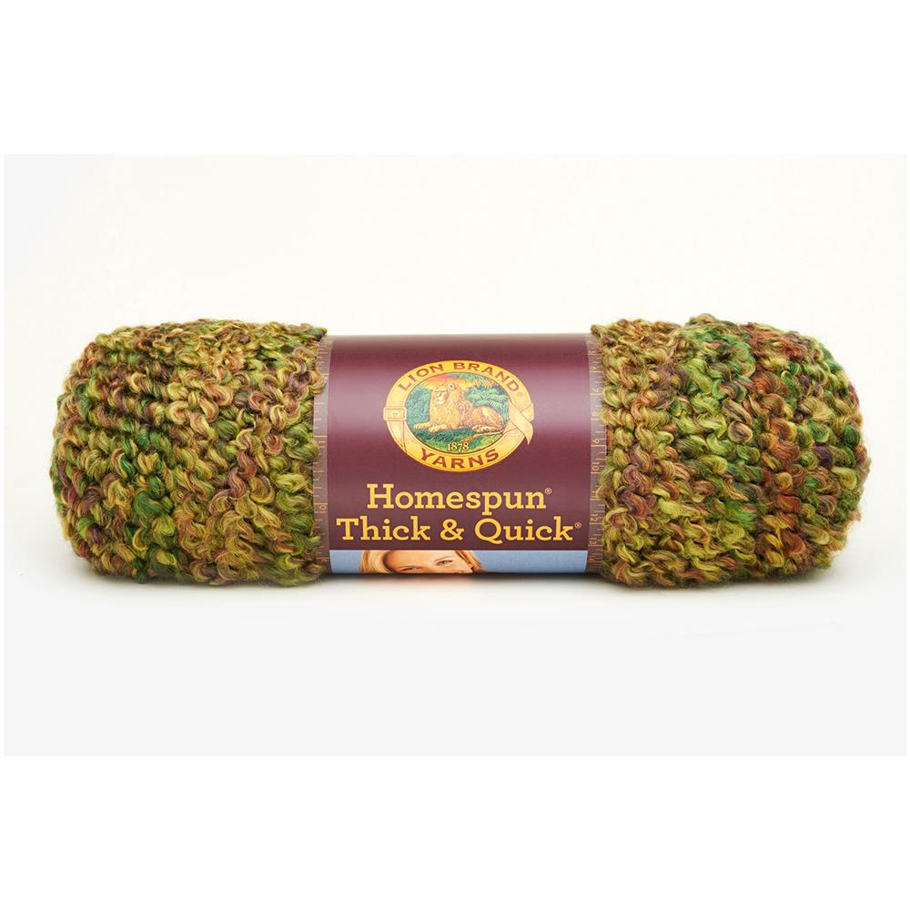 Lion Brand Homespun Thick & Quick Yarn (410)