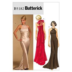 Butterick Misses' Dress Pattern B5182 Size AA0
